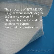 4 couches en fibre de verre en tissu de base de PP pour le corps de camion