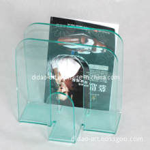 Acrylic Magazine Rack (AUB009-4)