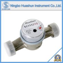 Compteur d'eau à jet simple / compteur d'eau en laiton / type à eau sèche Compteur d'eau
