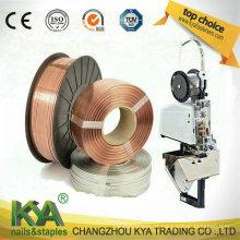 103023c10 Fio de costura de cobre para fazer grampos, grampo de papel