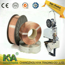 103023c10 Медный сшивающий провод для изготовления скоб, скрепки для бумаг