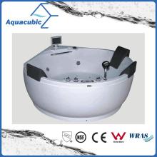 Round ABS Board Whirlpool Massage Bathtub (AB0811)