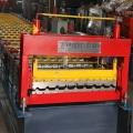 Трапециевидные аттестация CE автоматический крен формируя машину