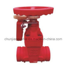 Ductile Iron Clamp Signal Fire Gate Valve