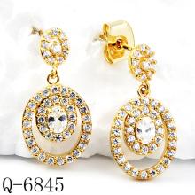 Neueste Styles Ohrringe 925 Silber Schmuck (Q-6845)