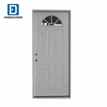Fangda 4 panel exterior door with sunflower glass
