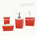 Two-Tone Polyresin Bath Accessories (WBP0822A)