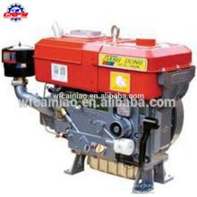 Motor diésel S1100 de un solo cilindro refrigerado por agua