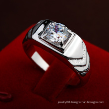 2016 Promotional Items Fashion engagement wedding diamond men ring