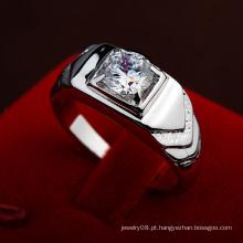 2016 Promotional Items Forme o anel dos homens do diamante do casamento do acoplamento