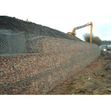 Hot Dipped Galvanized Wire Gabion Baskets for Control Flood