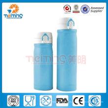 Frasco de vacío de la pared doble del acero inoxidable de la promoción / botella plástica