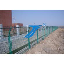 Red soldada con autógena revestida galvanizada de la cerca de la malla de alambre del PVC