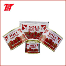 Beutel Tomatenpaste von Yoli Marke 70 G China Lieferant
