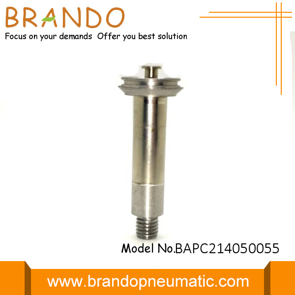 Silver Solenoid Valve Armature Weighing 78g
