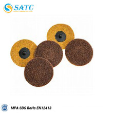 medium soft non-woven web disc for finishing and cleanning work
