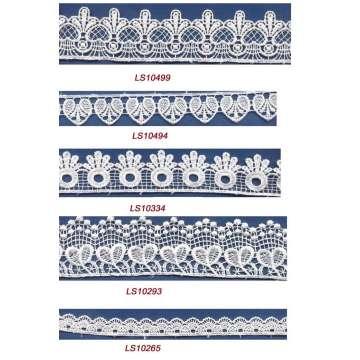 Charming belle conçoit dentelle tissu guipure dentelle pour robe de mariée