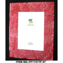 Square Gold Foil Paper Glass Photo Frame