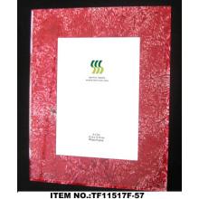 Molduras para fotos vidro papel quadrado da folha de ouro