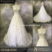 Новый Модный специальная Конструкция сексуальная 2015 кружева русалка свадебное платье