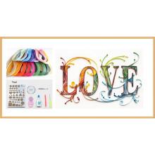 2016 nuevo DIY Quilling filetea la decoración casera del papel del arte popular que los cabritos Scrapbooking artesanan el papel-Rolante del arte