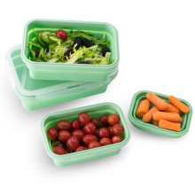 Silicone Collapsible Folding Food Storage Lunch Box