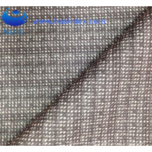 100% poliéster café Pringting tecido sofá (BS8133-1)