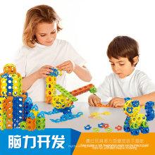 Pädagogische 300 Stücke 3D Puzzle Spielzeug DIY Puzzle Set Spielzeug (10274041)