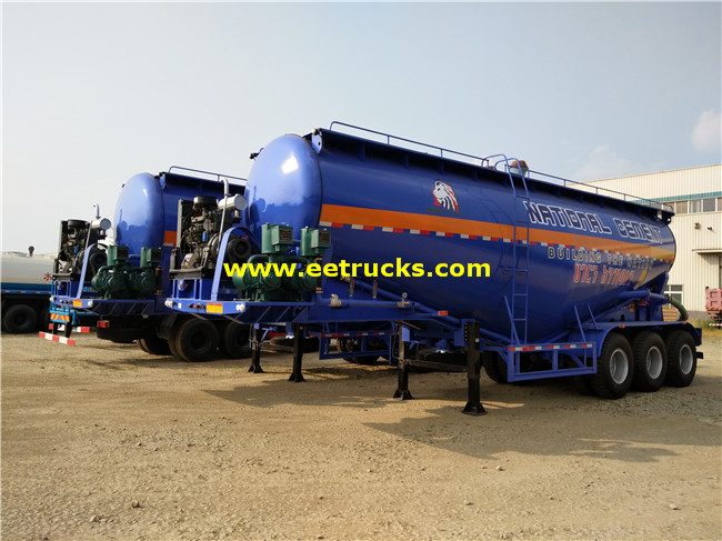 3 axle 10000 Gallon Bulk Grain Trailers