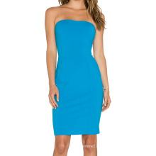 Женщин плеча талии узкие платья