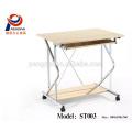 80cm modern mix colors steel frame melamine top latest design office desk