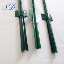 Green Painted U Shape Steel Fence Post Supplier