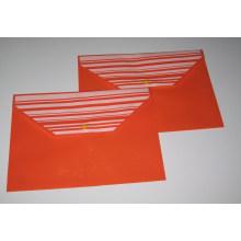 Colored PP File Bag (NO. PPB-020)