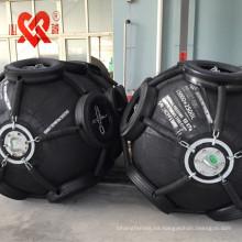 Defensa marina de goma neumática de la capa del neumático de la absorción de alta energía de la absorción