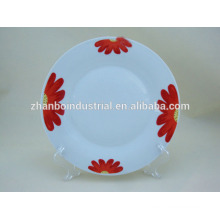 "Wholesale 8"" kitchen plates porcelain ceramic plate"