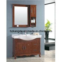 Gabinete de banheiro de madeira maciça / vaidade de banheiro de madeira maciça (KD-445)
