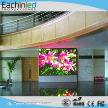 Mur visuel visuel de façade de médias d'écran d'affichage à LED de mur visuel de verre de LED pour le centre commercial