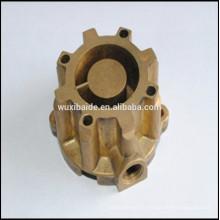 Пользовательские 4 оси OEM cnc обработка медь / латунь cnc детали промышленные запчасти