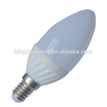 Iluminação interior 4w e14 e27 b22 b15 e12 e17 4w led luz da vela
