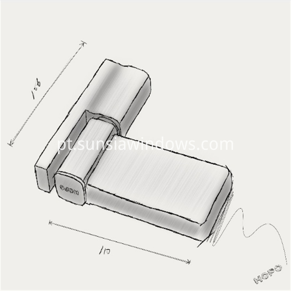 Concealed Hinge, Aluminium Door Hinge,Furniture Hinge Draft