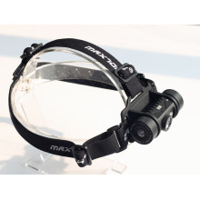MAXTOCH H01 XM-L2 U2 10W White and Red Beam LED Headlamp