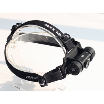 MAXTOCH H01 XM-L2 U2 LED White and Red Beam Headlamp