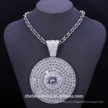 itens promocionais organizador de jóias de titânio cadeia de colar de bronze africano frisado jóias lotes de jóias por atacado