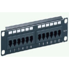 Cat5e U/UTP type patch panel