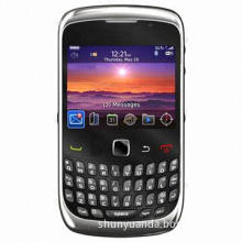 Qwerty Cell Phone with 2MP Camera/256MB ROM, Weighs 104g, 1150mAh Battery