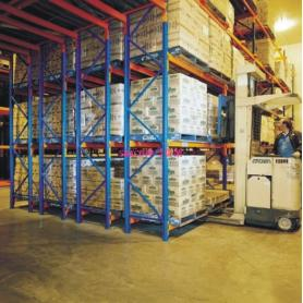 Warehouse Double Deep Pallet Racking System