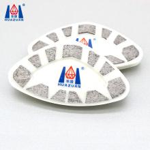 Huazuan new design diamond segment type cassani abrasive tool for grinding marble floor