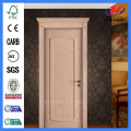 JHK-S05 Natural Red Oak HDF Puerta exterior