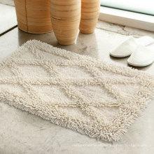 Venta caliente 100% algodón gruesa alfombra de baño del hotel