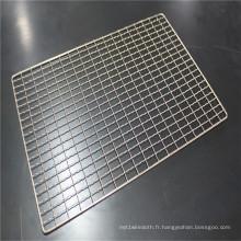 Panneau de treillis métallique serti de haute qualité de vente chaude